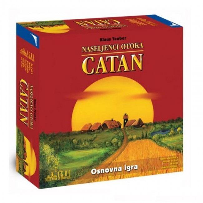 Igrajmo se Naseljenci otoka Catan